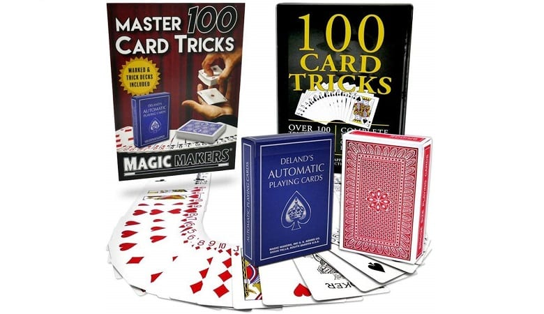 MAGIC MAKERS 100 CARD TRICK MARKED DECK KIT
