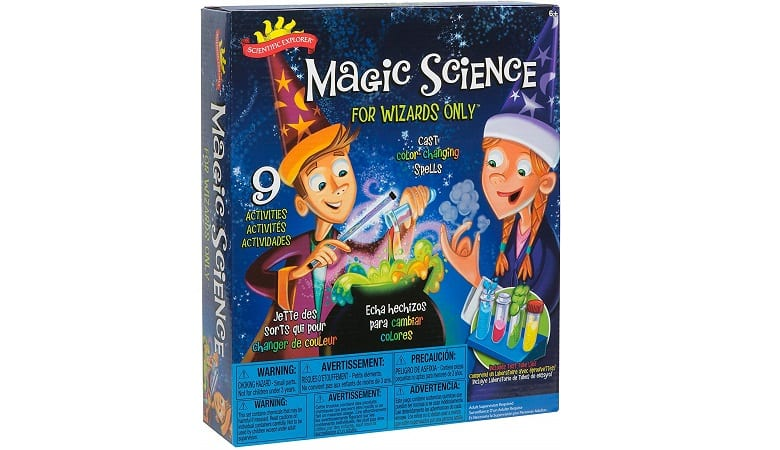 SCIENTIFIC EXPLORER MAGIC SCIENCE FOR WIZARDS