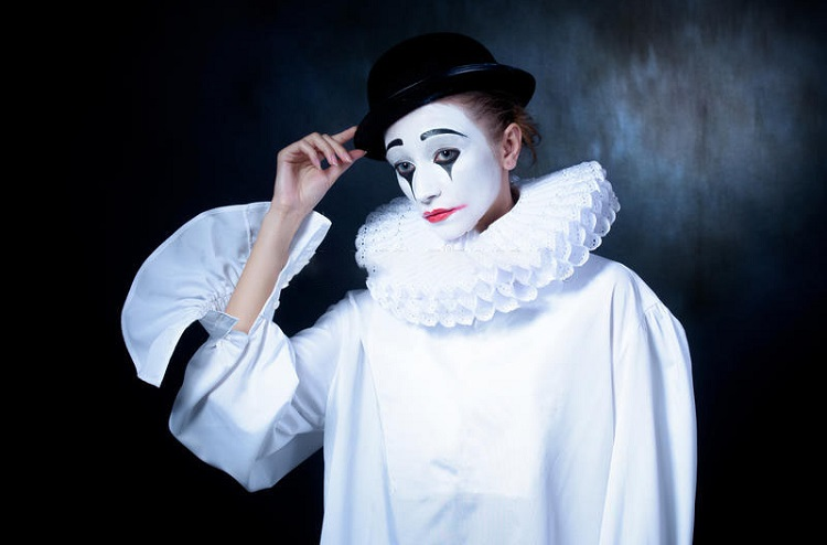 Pierrot Mime Character